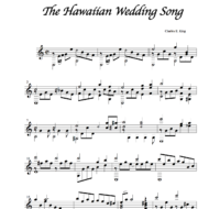 The Hawaiian Wedding Song